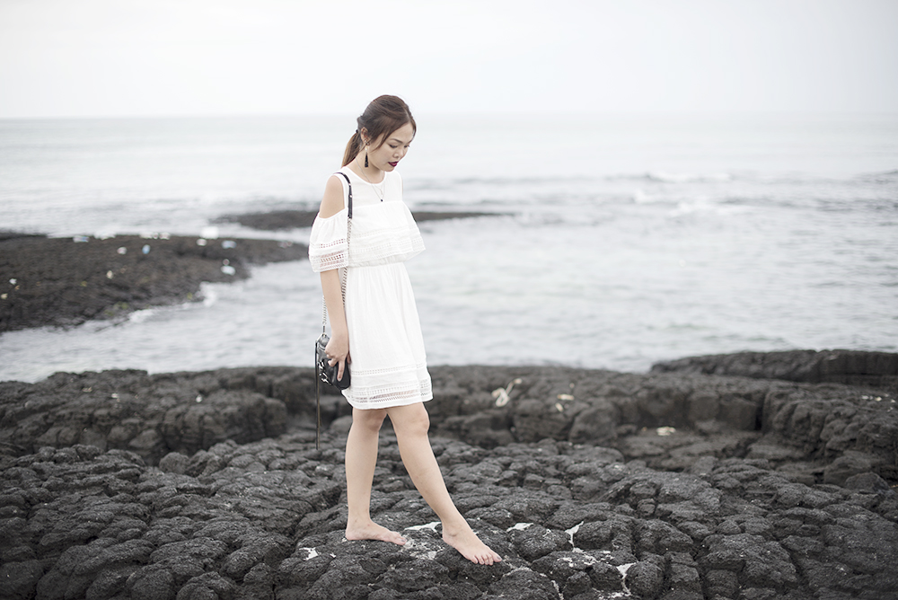 Mixxo Korea White Dress