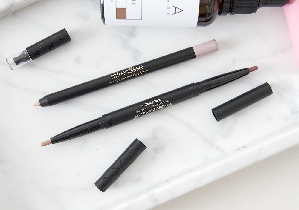 Mirenesse Forbidden Ink Auto Lip Liner Duet