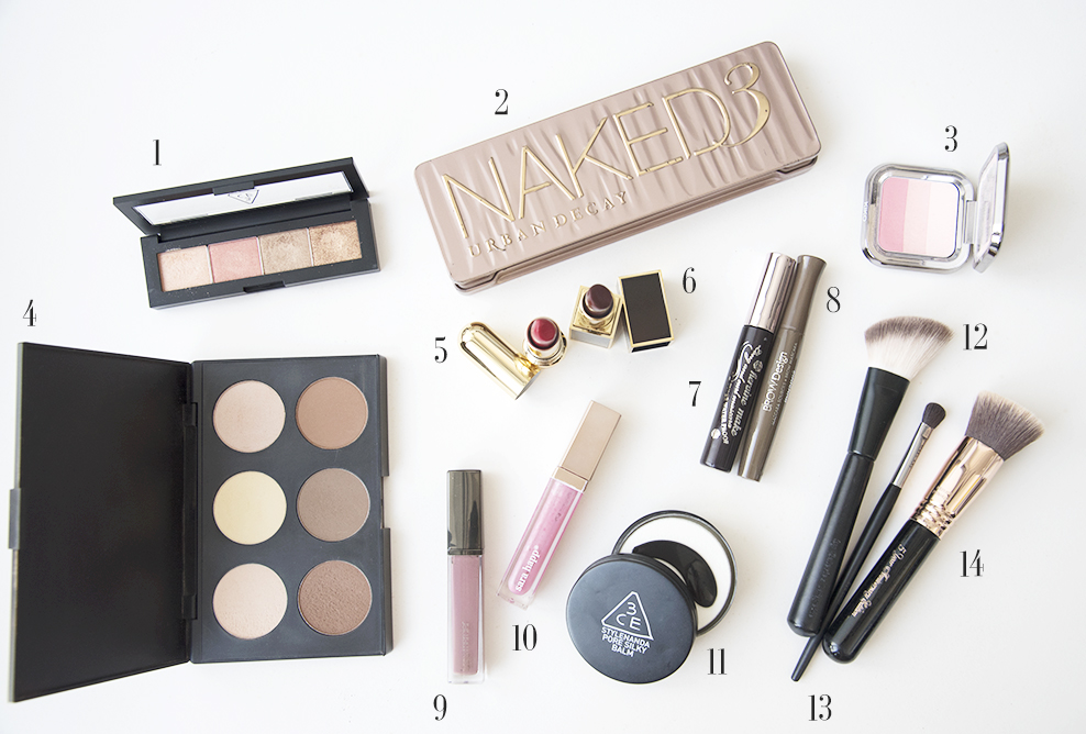 Travel Beauty Essentials: Makeup Edition
